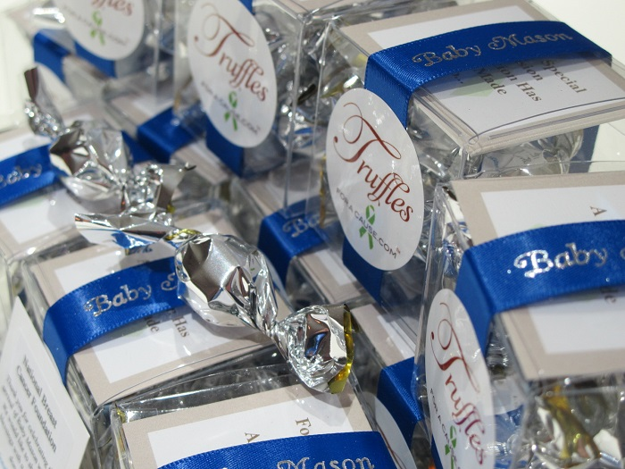 Chocolate Wedding Favors For Charity Truffles For A Cause