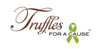 Truffles for a Cause – chocolate wedding favors with a donation to charities.