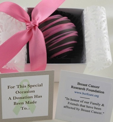 Close up of our Dessert Favor as an example of chocolate Wedding favors.