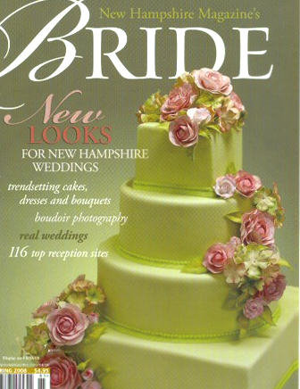 Weddings - NH Magazine's Bride cover.