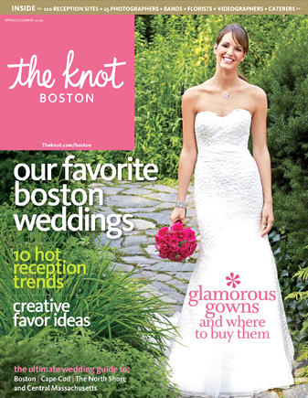 Weddings - The Knot cover issue